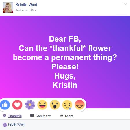 thankful flower