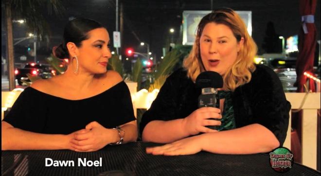 Horror Talk with Kristin West:  Dawn Noel