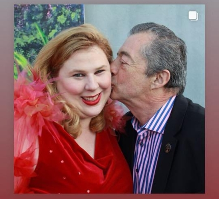 Kristin West & Director Philippe Mora