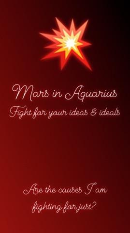 mars in aquarius