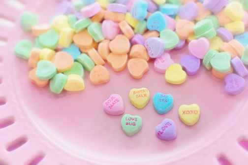 holiday sweet conversation hearts