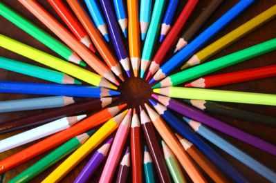 art artistic bright color